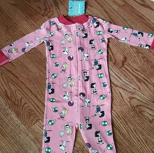 NEW Hanna andersson ORGANIC COTTON sleeper 18-24m